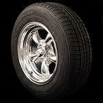 Classic Torq Thrust II 15x7 Wheel and Tire Package