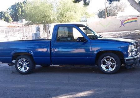 Aftermarket Rims For Chevy Silverado 1500 >> 1991 Chevrolet Silverado 1500 with 17x7 and 17x9.5 Torq ...