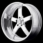 VF495 Forged Straight Spoke 19x11