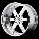 VF496 Forged Straight Six Spoke 17x7