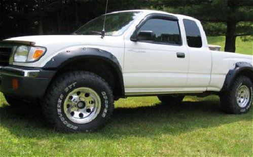 Toyota Tacoma With American Racing Baja Wheels