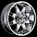 20x9 PVD Chrome Octane 8/6.5 +1MM Offset