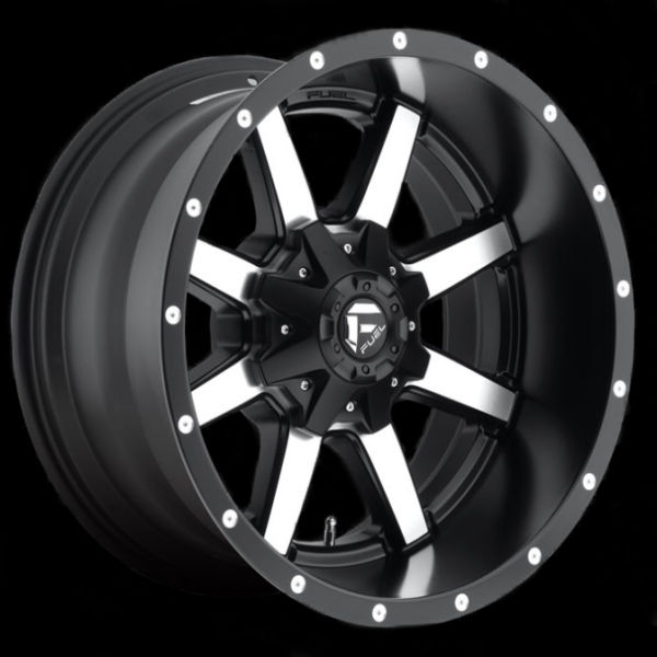 7 Passenger Suv List >> Fuel Flat Black D53720208247 20x12 Maverick 8x6.5 -44MM Offset