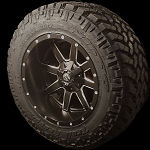 20x12 Maverick 8x6.5  Wheels and Tires Package
