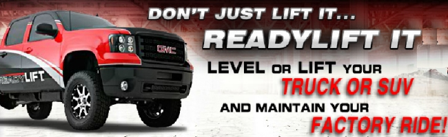 Now Selling Leveling Kits for Added Tire Clearance