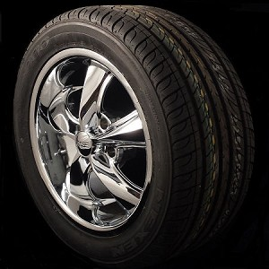 Foose Legend 17x8 5x4.75 Package