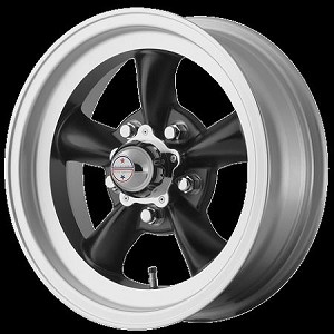 "Torq Thrust D Black 16x8 5x4.5 4.0"" Backspace"