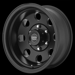 Black Baja 15x8 5x5 -19MM Offset