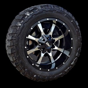 Moto Metal 970  20x10 6x5.5 - 6x135 Wheels and Tires Package