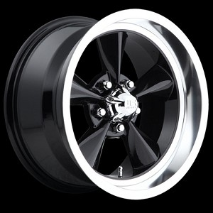 Black Standard 15x7 5/4.5 -6MM Offset