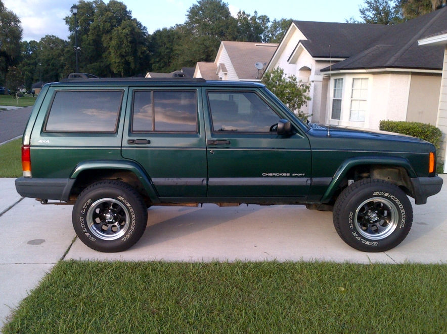1999 Cherokee with Ion 174