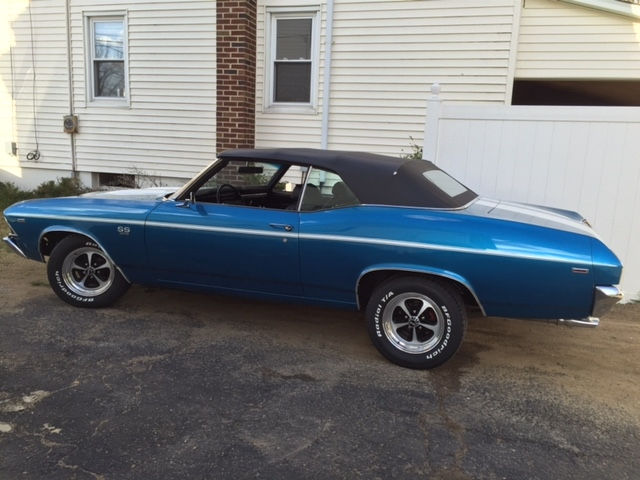 1969 Chevrolet Chevelle With American Racing Ar500 Wheels