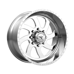 Blade SS 20x10 Polished - Right Directional 8x165.1 (8x6.5) Bolt Pattern -25mm Offset