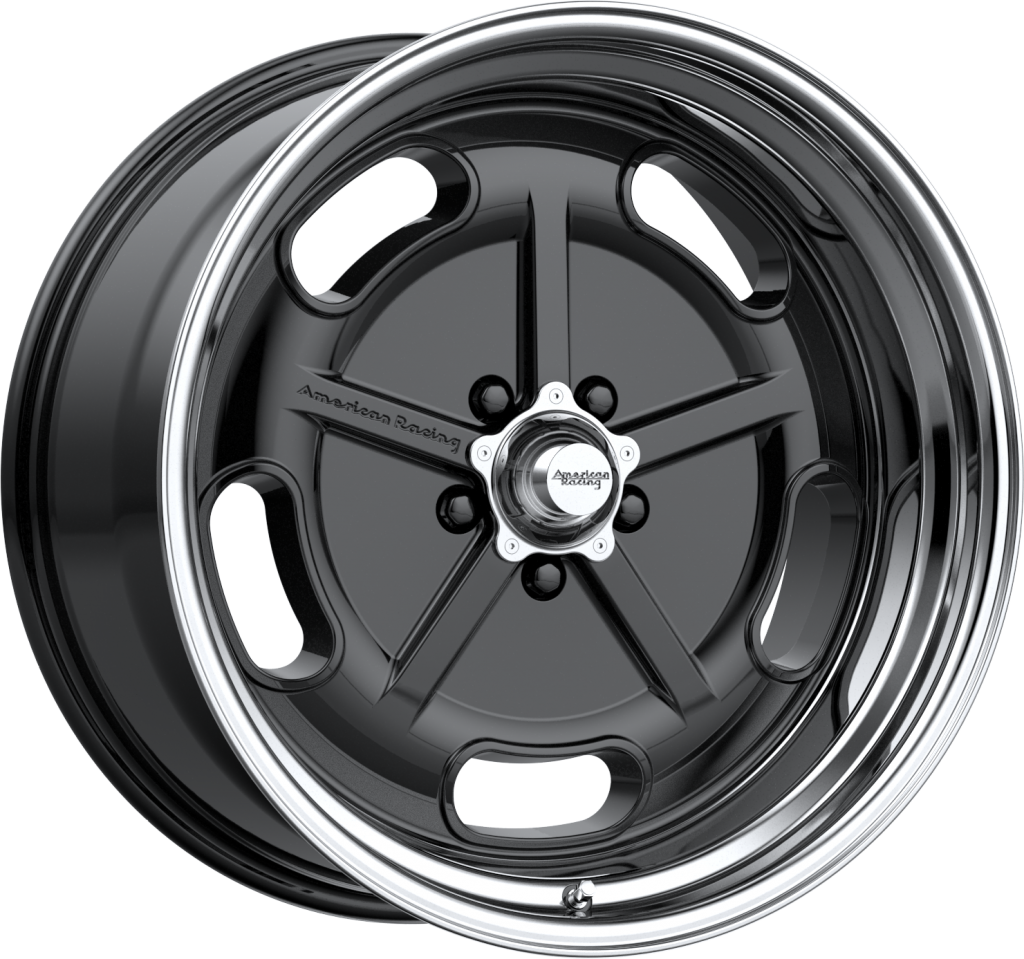American Racing Salt Flat Gloss Black