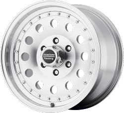 Outlaw II 15x10 Machined 5x120.65 (5x4.75) Bolt Pattern -38mm Offset