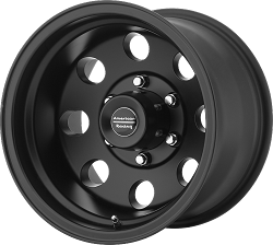 Black Baja 17x8 8/6.5 0MM Offset