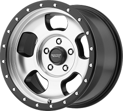 Ansen Off Road 16x8 8x6.5 Machined  (0mm)