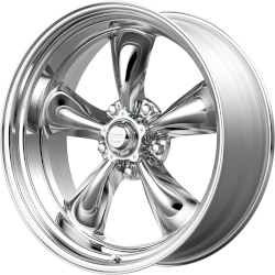 Polished Torq Thrust II 15x10 5x4.75 3.75