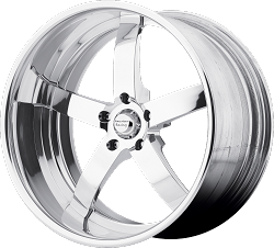 VF495 Forged Straight Spoke 17x7