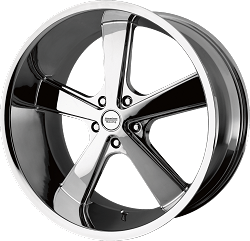 Nova Chrome Wheel and Tire Packages