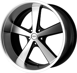 Nova Black and Machined Wheel and Tire Packages