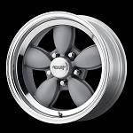 Mag Gray VN504 Wheel and Tire Package