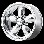Polished VN504 Wheel and Tire Package