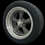 Classic Torq Thrust II 18x7 & 18x9 5x4.5 Staggered Package