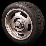 VN506 Rally Mag Gray Wheel and Tire Package