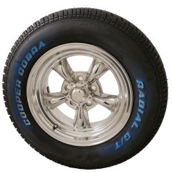 Torq Thrust II 15x7 5x4.75 Wheel and Tire Package Set of Four