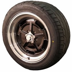 Gloss Black Salt Flat Wheel and Tire Packages