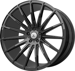Polaris 19x8.5 Gloss Black Blank Bolt Pattern 0mm Offset