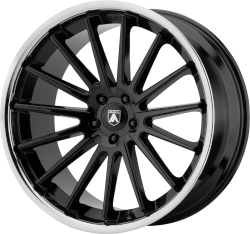 Beta 20x10.5 Gloss Black Chrome Lip Blank Bolt Pattern 20mm Offset