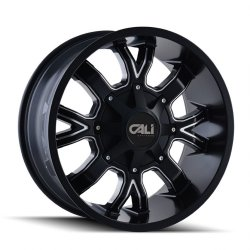 Dirty Black 20x10 8x6.5, 8x170 -19mm