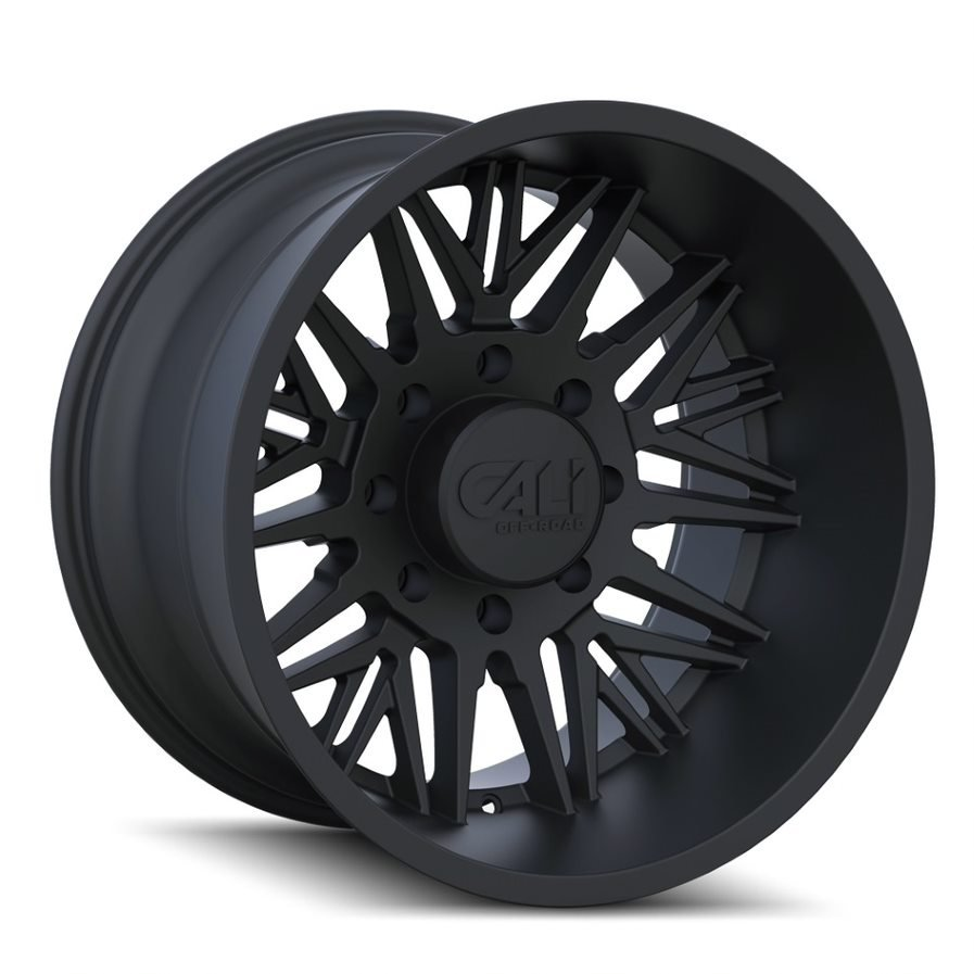 RAWKON 9109 MATTE BLACK 22x12  6x135  -51mm Offset