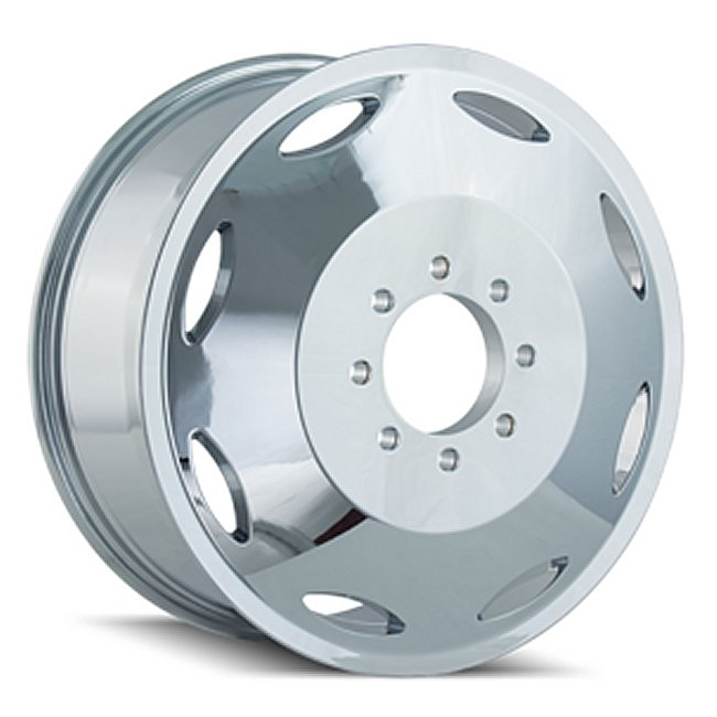 Brutal Chrome Inner 22x8.25 8x6.5 115mm Offset 121.3mm Hub Bore