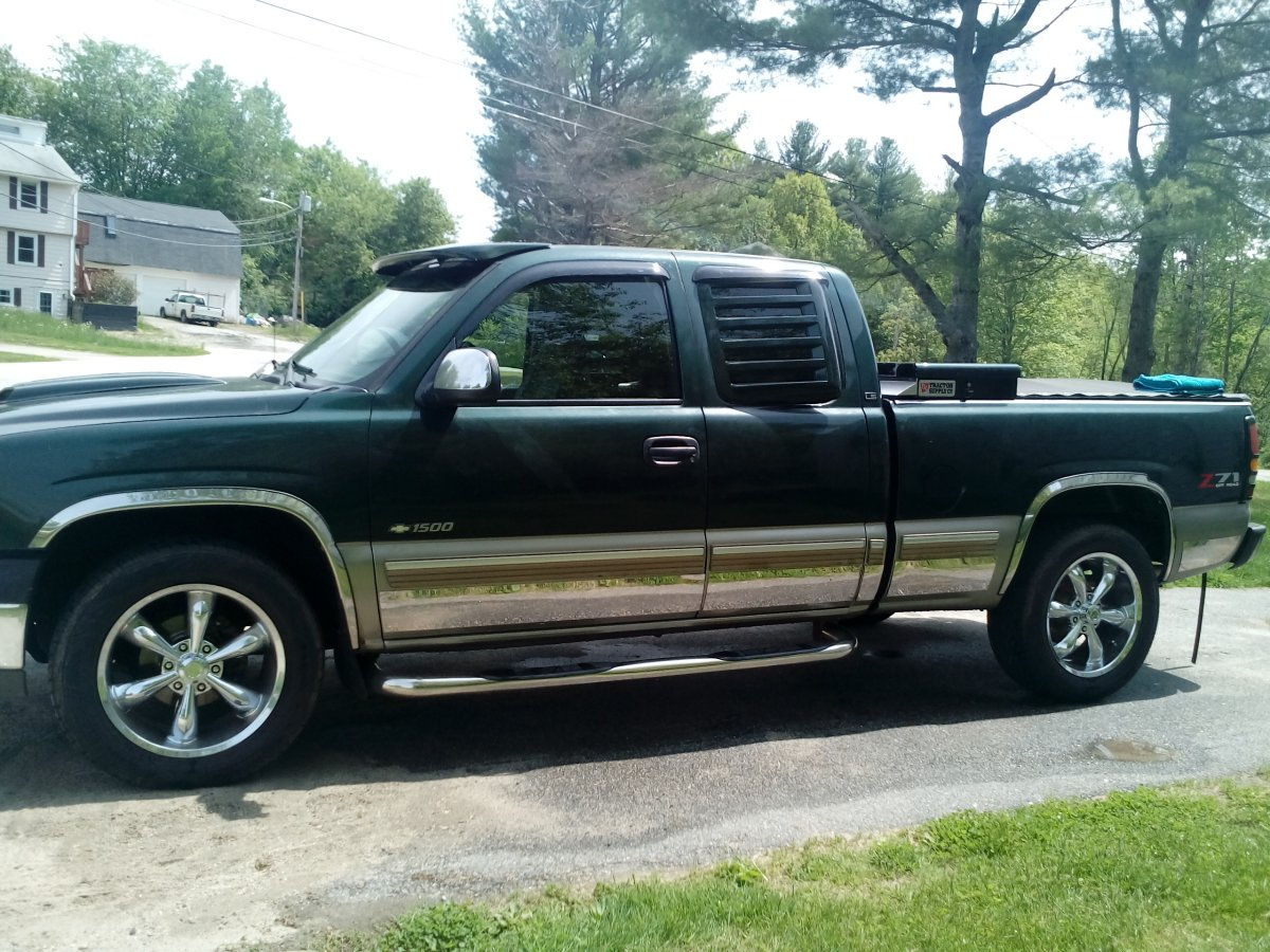 2002 Chevy 1500 Z71 with Vision Legend 6 Wheels