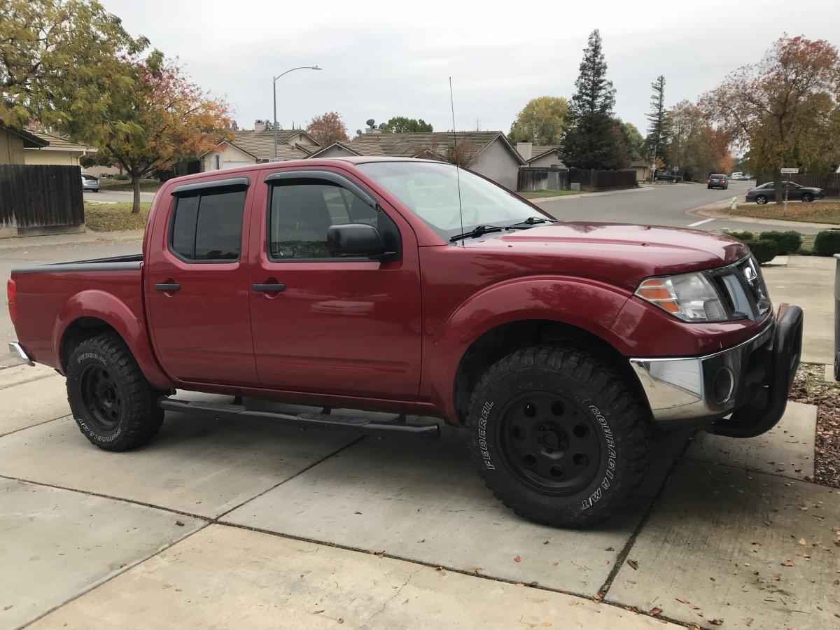 2009 Frontier with XD Pulleys