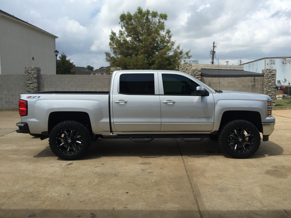 All Chevy chevy 1500 wheels : 2015 Chevy Silverado 1500 with Cali Offroad Busteds