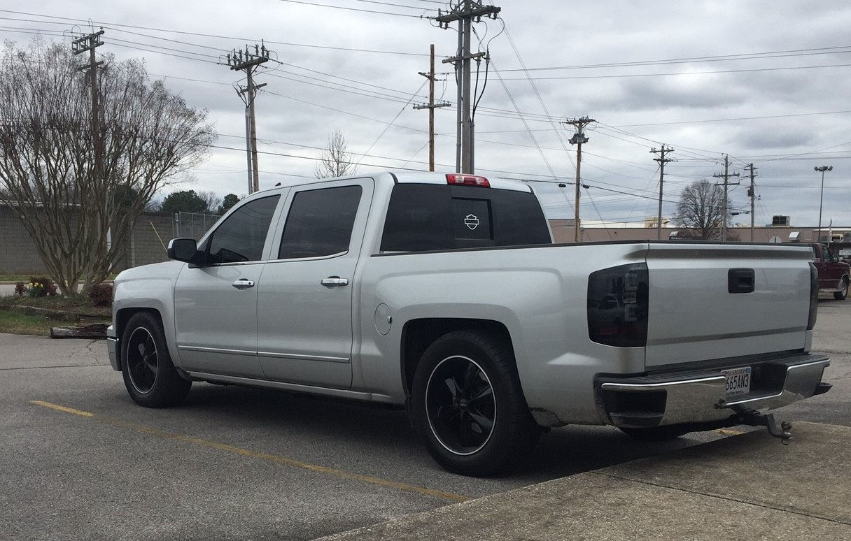 All Chevy chevy 1500 wheels : 2015 Chevy Silverado 1500 with Foose Black Legend Six Wheels