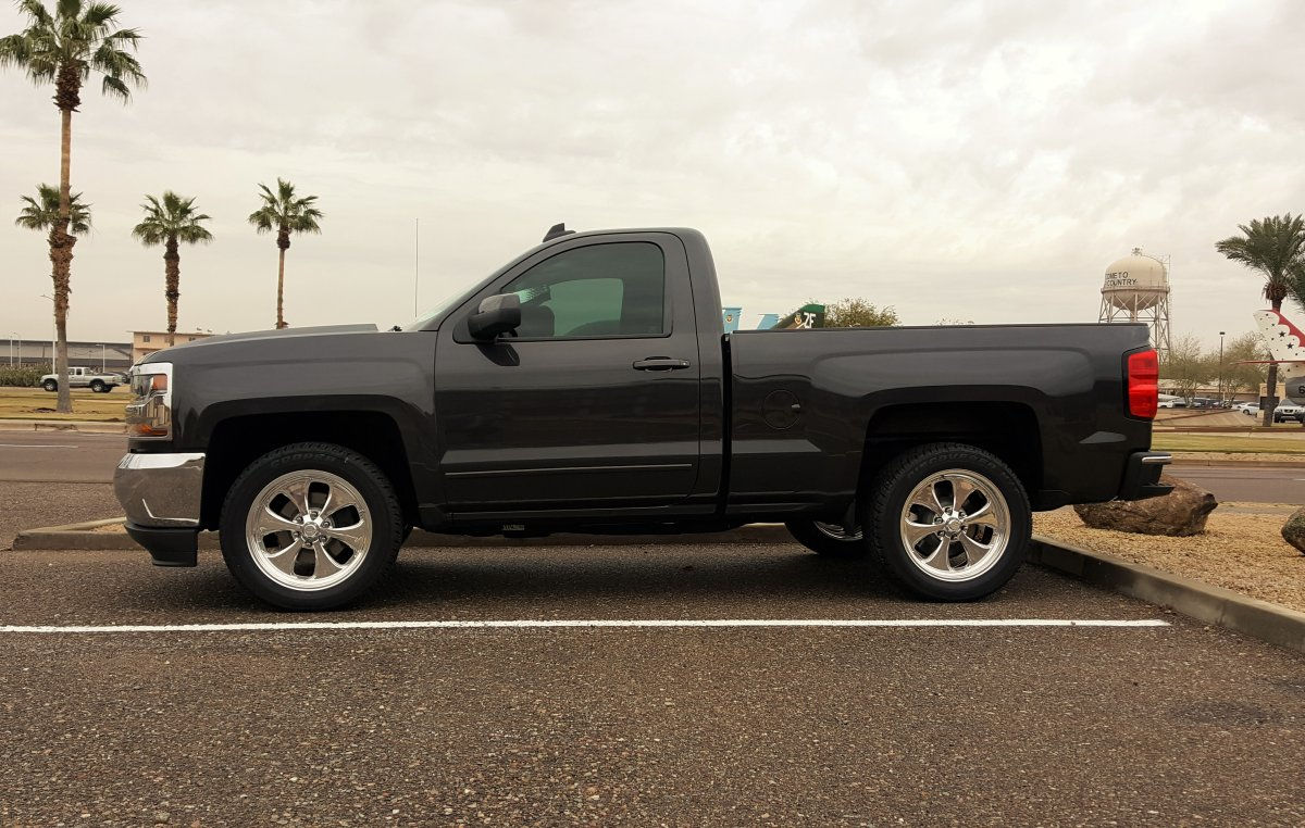 All Chevy chevy 1500 bolt pattern : 2016 Chevy Silverado 1500 with 20x9.5 American Racing Forged VF492 ...