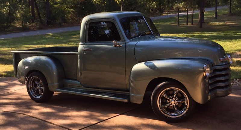 1950 Chevrolet 3100 Truck With Torq Thrust Ii Wheels