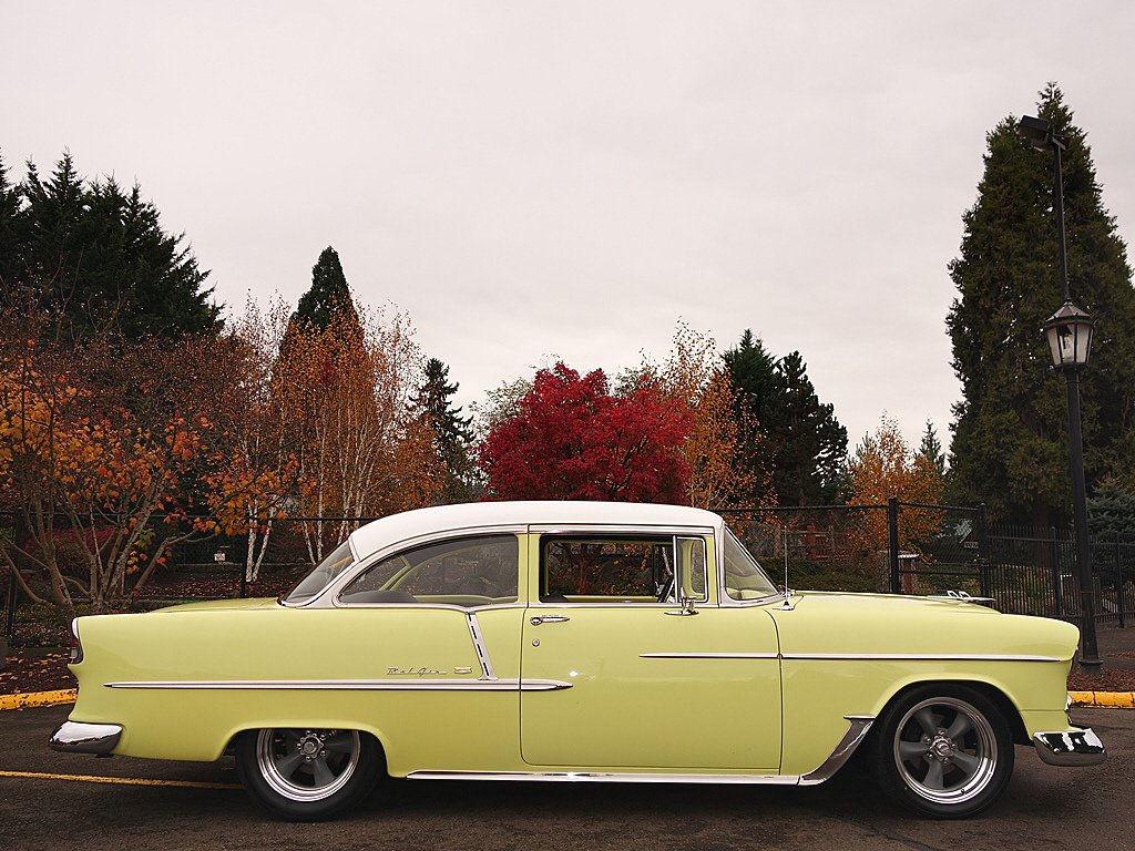 1955 Chevy 2 Door Sedan For Sale