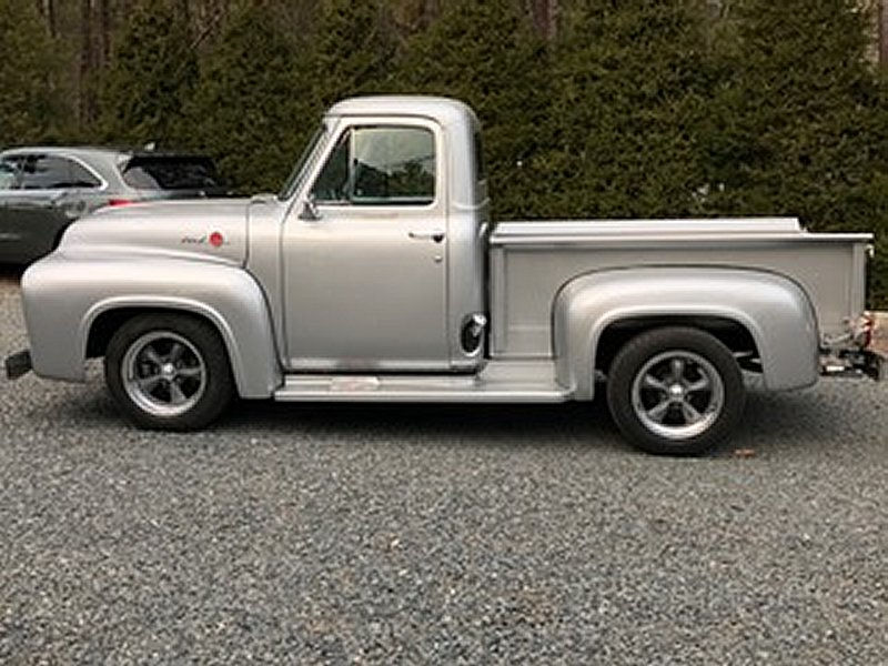 1955 Ford F100 With 17x8 Cl205 Torq Thrusts