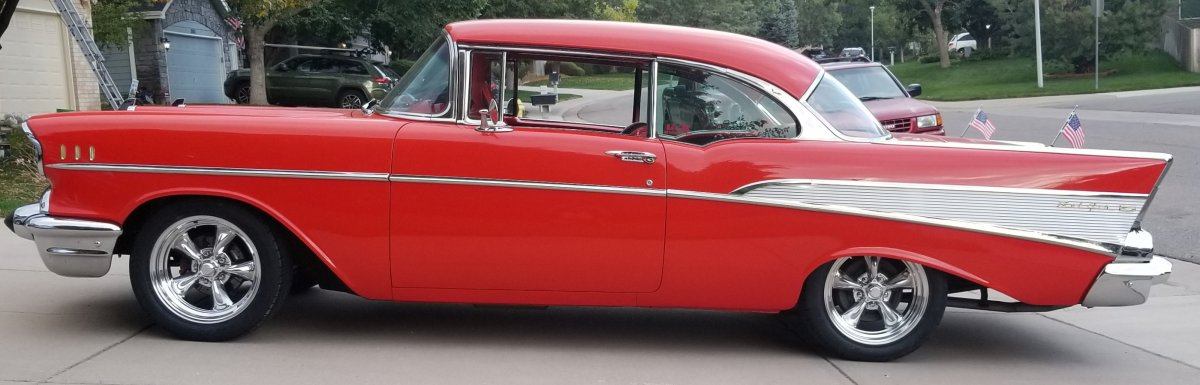 1957 Belair with 17