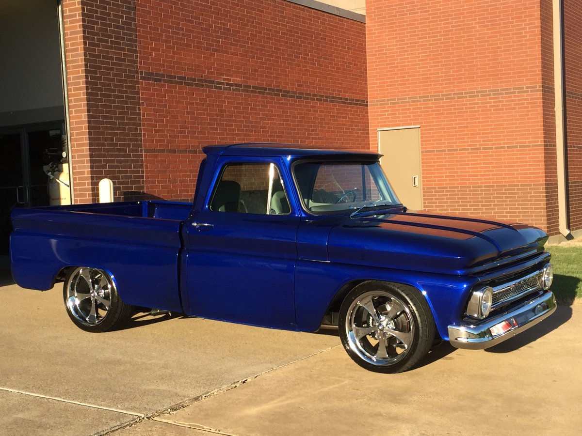 All Chevy chevy c10 20 wheels : 1964 Chevy C10 with 20