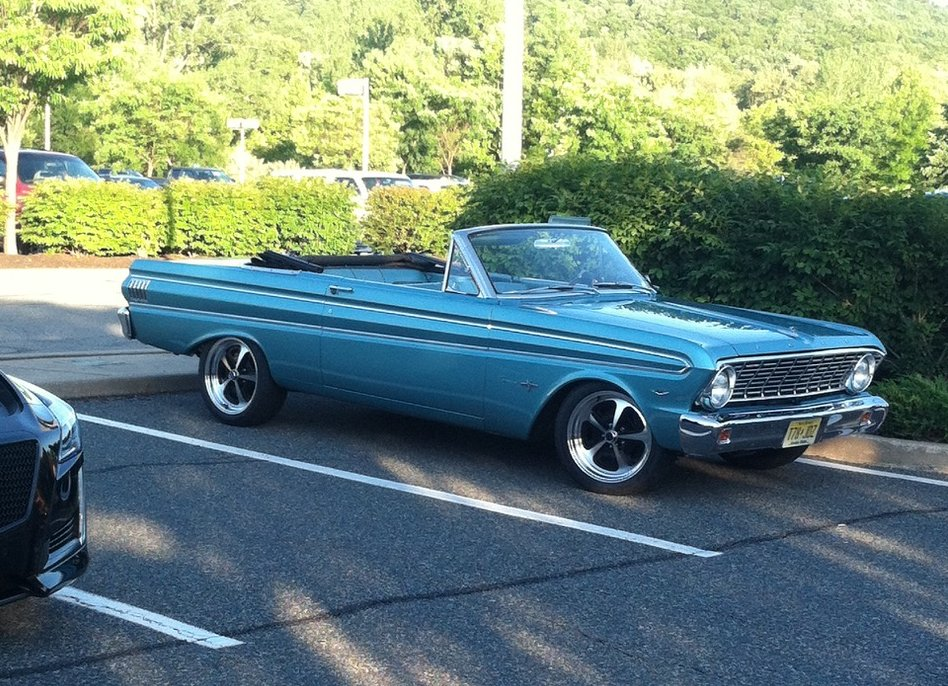 1964 Falcon With Vn501 Wheels