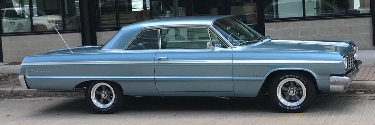 1964 Impala with Torq Thrust D Package