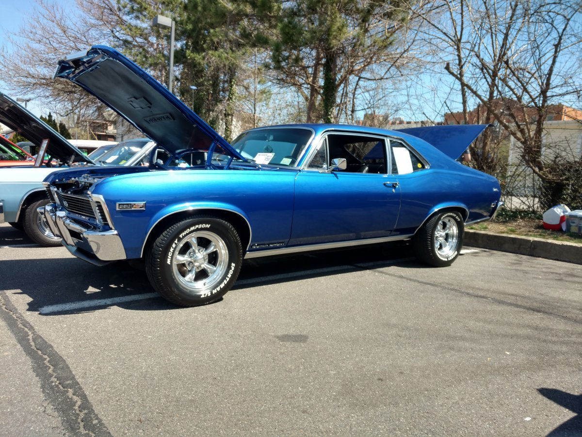 1968 Chevy Nova With Torq Thrust Ii Wheels