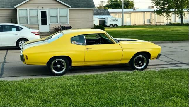 Moto Metal Wheels >> 1970 Chevy Chevelle with 17x8 Vision Legend Wheels
